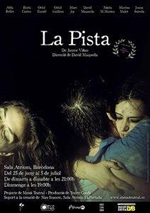la pista menu teatral teatre barcelona